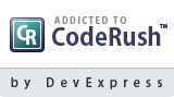 Addicted to CodeRush by DevExpress