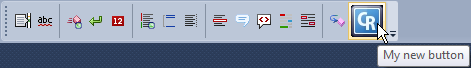 DXCore Visualize Toolbar new button