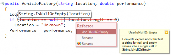 Refactor! Refactoring sample
