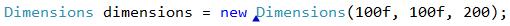 CodeRush Declare Struct marker