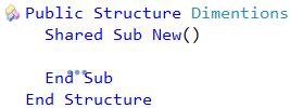 CodeRush Declare Struct